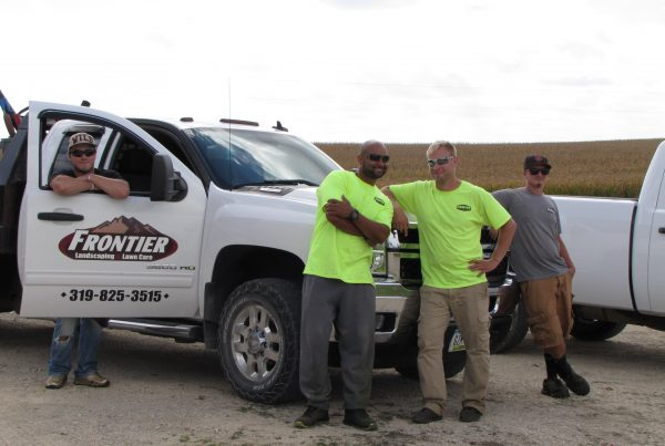 Frontier Landscaping & Lawn Care Crew