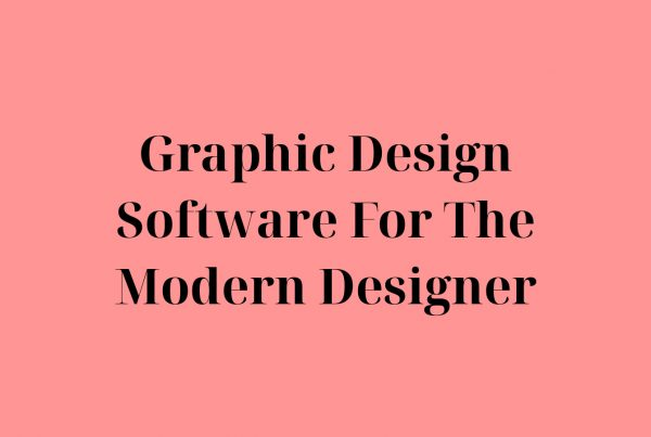 Graphic Design Software For The Modern Designer